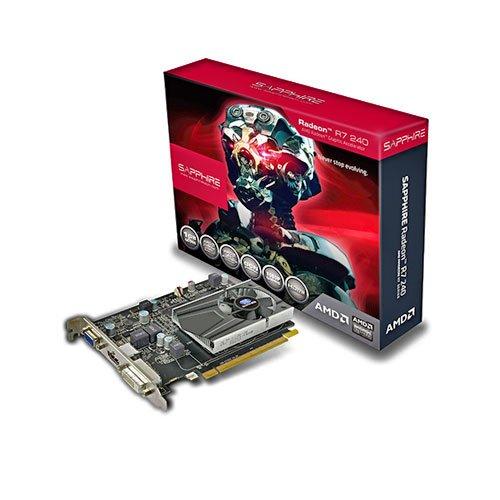 Sapphire 11216-00-20G Radeon R7 240 Grafikkarte (PCI-e, 2GB, DDR3 Speicher, DVI, D-Sub, HDMI)