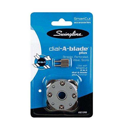 Swingline Paper Trimmer Replacement Blade, for SmartCut 4-in-1 Dial-A-Blade Plus Rotary Trimmer (9213RBA),Silver