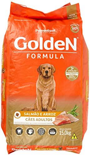 Premier Pet Golden Adult Dog Food, Salmon and Rice Flavor, 15kg