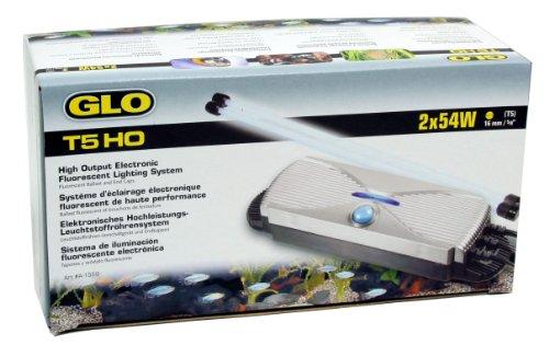 Glo Aquariophilie Système d'Éclairage T5 2x54 W