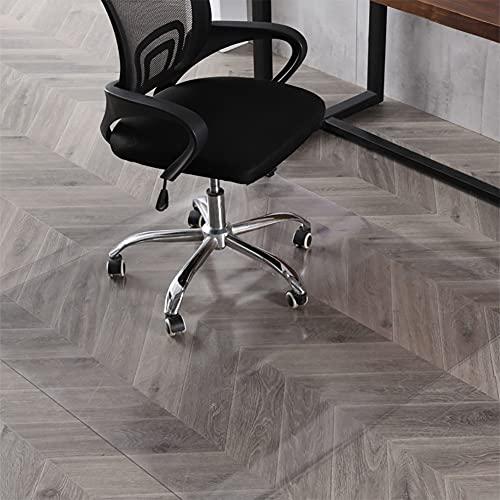 """Office Chair Mat, 47""""×35""""-2mm Thick, Chair Mat for Hardwood Floor, Desk Chair Mat, Floor Protectors for Office Chairs, Office Mat, Office Mats for Rolling Chairs"""