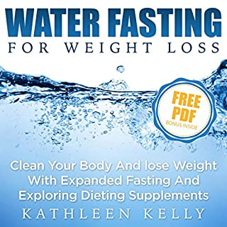 Water Fasting For Weight Loss audiobook cover art