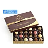 Godiva Chocolatier Assorted Chocolate Truffles Signature Gift Box, 24-Pieces, 16.5 Ounce