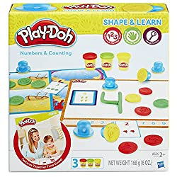 STEM Birthday Gift Ideas For A 3 Year Old Girl Play Doh Shape And Learn Numbers