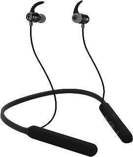 Bluetooth nackband hörlurar med 60 timmar speltid inbyggt mikrofon-stöd TF-kort brusreducering för träning löpning sport –...