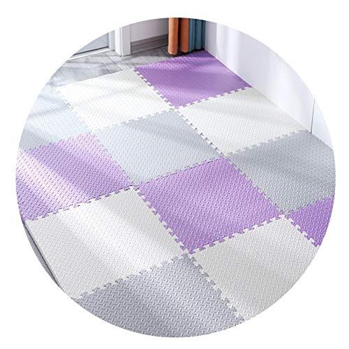 GHHZZQ Soft Foam Play Mats Durable Cutable Interlocking Floor Tiles Non-slip Anti-fall for Child Home School Amusement Park Crawl Game, Multiple Colour, Multiple Sizes