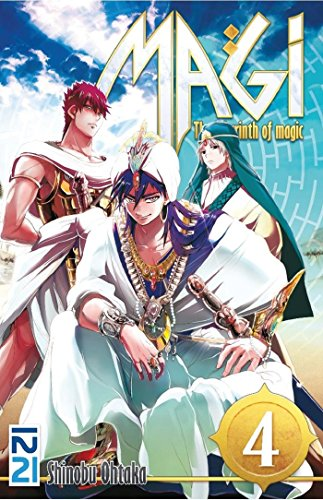 Magi - The Labyrinth of Magic - tome 04