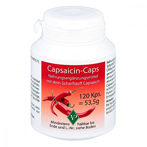 CAPSAICIN Caps 120 St