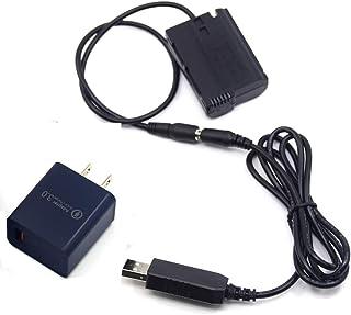 PRO Power Bank MH-25 USB Cable + QC3.0 Adapter + EP-5B EN-EL15 Dummy Battery for Nikon Z7 Z6 V1 D810 D800 D850 D810A D800E...