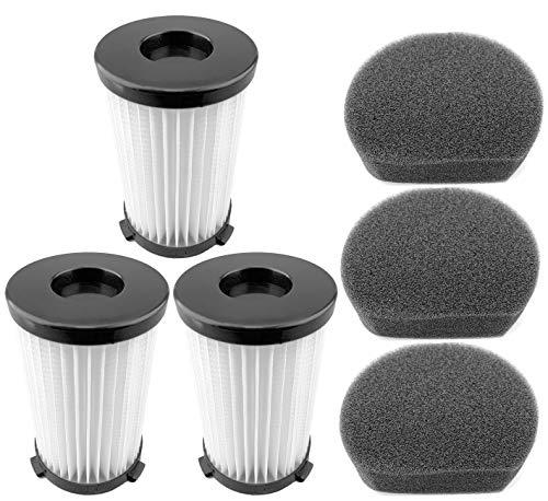 3 filtros 3 esponjas para escoba eléctrica Handyforce 2761 2759