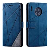 Huawei Mate 30 Pro Case, SONWO Premium Leather Flip Wallet