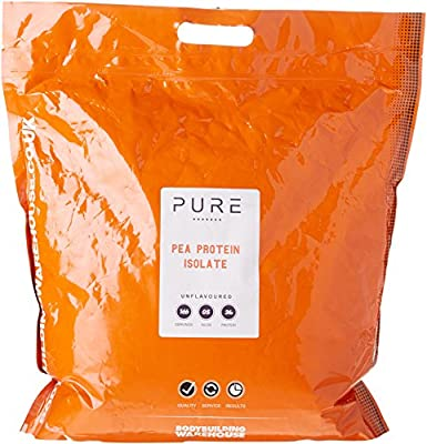Bodybuilding Warehouse Pure Pea Protein Isolate Powder/Unflavoured (5kg)