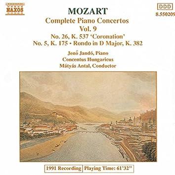 Mozart: Piano Concertos Nos. 5 and 26 / Rondo, K. 382