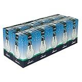 10 x Leuci Glühbirne Birnenform A67 150W E27 klar Glühlampe Glühbirnen Glühlampen warmweiß dimmbar (150 Watt)