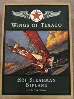ERTL Wings of Texaco 14 1931 Stearman Bi Plane