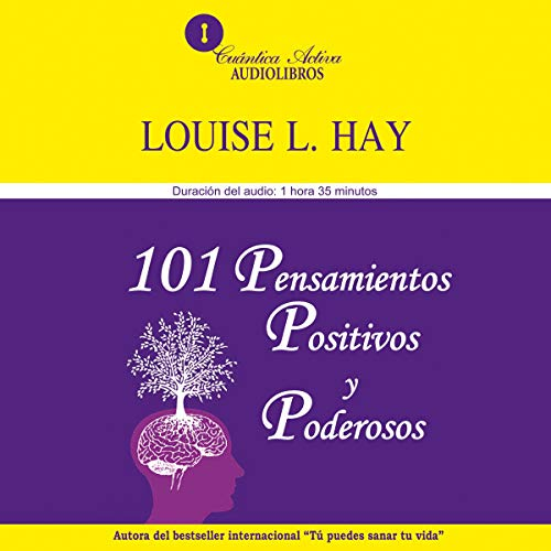101 pensamientos positivos y poderosos [101 Power Thoughts] audiobook cover art