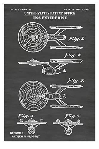 Star Trek Enterprise Wall Art Print Poster