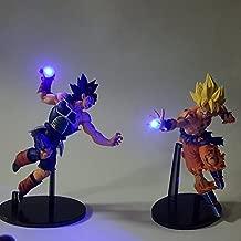 Dragon Ball Z Action Figures Son Goku Burdock Kamehameha Led Light 150mm Anime Dragon Ball Super Saiyan DBZ