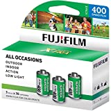 Fuji Superia X-TRA 3 Pack ISO 400 36 Exp. 35mm Film, Total 108 Exposures...