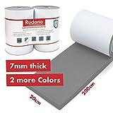 Protection murale Rudano - Mousse autocollant pour garages Protection murale - Protection de porte protège votre voiture contre les rayures, les bosses et les égratignures