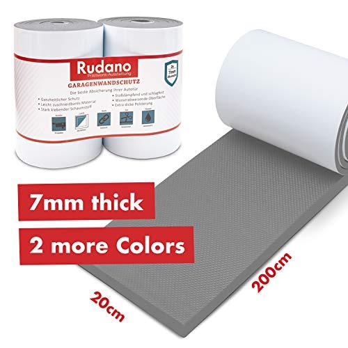 Protección de pared Rudano - Espuma autoadhesiva para garajes Protección de la pared - La protección de la puerta protege su coche de arañazos, abolladuras y rasguños - protección de carnero |