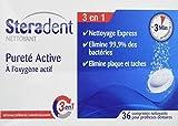 Steradent Nettoyant Pureté Active - 36 comprimés
