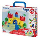 Pegs 10 mm (240 piezas) - Primary Colors
