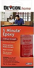 Devcon (20945-6PK 5-Minute Epoxy - 4.5 oz. 2 Part Bottle, (Pack of 6)