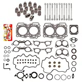 Domestic Gaskets HSHBLF9001 Lifter Replacement Kit Compatible With 93-97 Subaru Impreza 1.8 SOHC 16V EJ18E Head Gasket Set, Head Bolts, Lifters