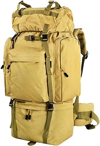 JooGoo 65L Grand Sac à Dos De Randonnée Voyage en Plein Air Sac à Dos De Camping d'escalade Hommes Et Femmes