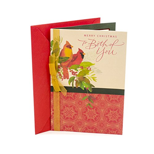 Hallmark Christmas Card for Couple (Two Cardinals)