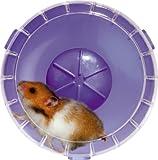 Roue silencieuse pour cage RodyLounge SILENT WHEEL lilas diamètre 14 cm environ (hamsters et gerbilles). ! Vérifier si la taille convient à votre animal.