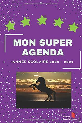 Mon Super Agenda - Agenda Scolaire 2020 2021 - Ton Compagnon de route pour réussir ton année au primaire.: Format 15.2 x 22.8   175 Pages   2 jours ... ludiques et sympa à faire chaque weekend.