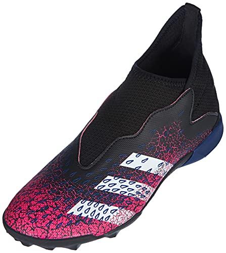 adidas Predator Freak .3 LL TF J Soccer Shoe, Core Black FTWR White Shock Pink, 3.5 UK