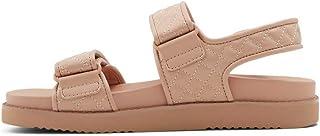 ALDO Women's EOWILIWIA Flat Sandal, LIGHT PINK, 7.5