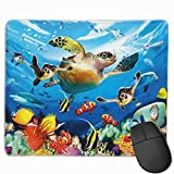 Mouse Pad Journey of The Sea Turtles Mousepad Non-Slip Rubber Gaming Mat Rectangle Pads for Computers Laptop Mouse Pad