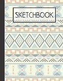 Blanket pattern Sketchbook: 200 Page Sketchbook: Artist Edition (8.5x11)