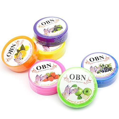 WEDF Huile cosmétique dissolvant de vernis à ongles serviette de résurrection coton aromatisé aux fruits