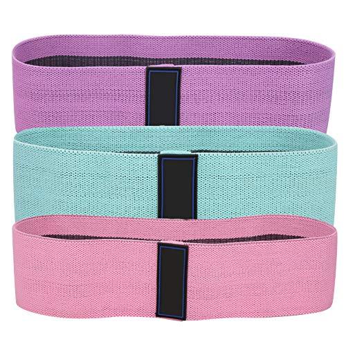 Fybida Accesorio de Yoga Cinturón de Resistencia para Ejercicios de Estiramiento Fuerte Cinturón elástico aplicable de látex para Cuerpo Medio Radical