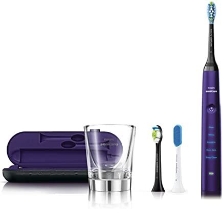 Philips electric toothbrush (Amethyst) PHILIPS sonicare Sonicare Diamond Clean deep clean edition HX9309 / 08