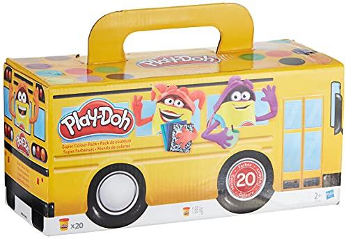 Play-Doh Duże Opakowanie Ciastoliny, Wielokolorowy, 20 Sztuk