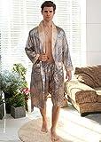 XMYNB Pijama de Encaje Bata de baño Pijamas de Mujer Pijamas para Hombres, Robe...