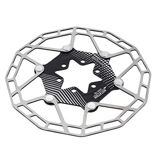 LvTu Disco Rotor de Bicicleta MTB 160mm Súper Ligero Aleación Acero Inoxidable 6 Agujeros Distancia Central 44mm 80g (Color : 1PCS)