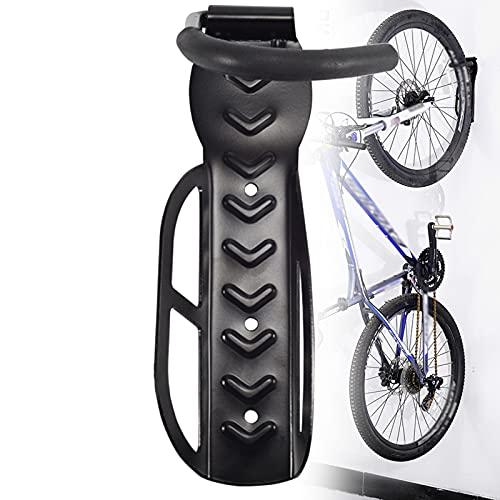 EnweMahi Acero Colgador Bicicleta Pared,Ganchos Colgar Bicicletas,Gancho Movible con Tornillos Expansión Metálicos Carga 15 Kg Aparcamiento para Bicicleta Carretera Montaña