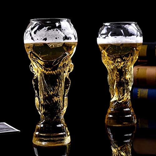 Creative CupFußball Fußball WM Becher Herkules Bier Glas Bar Drink Stein Becher, klar, 350ml