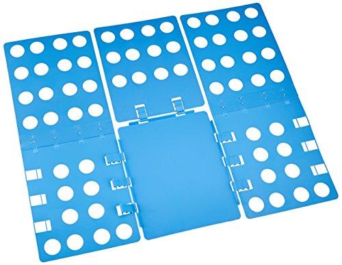 WYZworks Adjustable Adult Magic Fast Folder Clothes T-Shirts Folding Board (Blue)