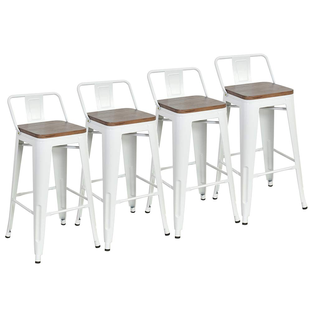Dekea 26 Inch Low Back Bar Stools With W Buy Online In Andorra At Desertcart