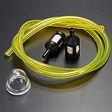 FATO. 2,5/3 mm Pipe de carburant + 2 Mini filtre et ampoule pour Ryobi Primaire essence débroussailleuses
