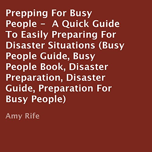Prepping for Busy People audiobook cover art