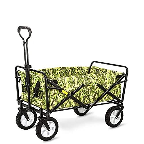 LLSS Einkaufswagen Outdoor Camping Auto Supermarkt Angeln Einkaufen Tragbarer Wagen Home Allrad Klapp Einkaufswagen Tragbare Gebrauchswagen